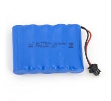 Аккумулятор Ni-CD 6V 700 mAH AA - NICD-6F-700-YP