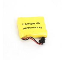 Аккумулятор Ni-Cd 3.6V 700 mAh AA - NICD-36F-700-YP