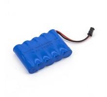 Аккумулятор Ni-Cd 6v 1400mah YP - NICD-6F-1400-YP