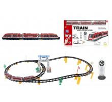 Железная дорога с пультом управления (поезд Красная стрела, длина 396 см, свет, звук) - 2813Y