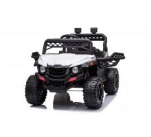 Детский электромобиль багги (белый, 12В, 2WD, EVA, пульт) - BDM0929-WHITE