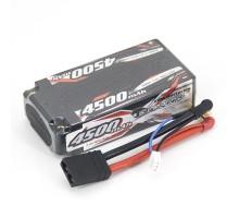 Аккумулятор Sunpadow Li-Po 7.4V 4500 40C SH TRX plug - SP-4500-2-40C-SH-T