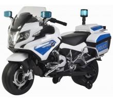 Детский полицейский электромотоцикл BMW R1200RT-P White 12V - 212