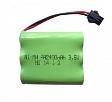 Аккумулятор Ni-Mh 3.6v 2400mah YP - NIMH-36F-2400-YP
