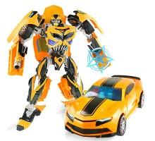 Робот-трансформер стальной ''Машина