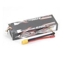Аккумулятор Sunpadow Li-Po 11.1V 4200 40C S XT60 plug - SP-4200-3-40C-S-X