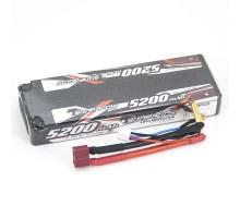 Аккумулятор Sunpadow Li-Po 7.4V 5200 45C Slim Deans plug - SP-5200-2-45C-S-D