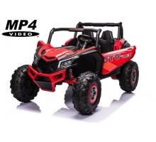 Детский электромобиль XMX Багги (красный, MP4, EVA, 4WD, 24V) - XMX613-4WD-24V-RED-MP4