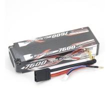 Аккумулятор Sunpadow Li-Po 7.4V 7600 45C S TRX plug - SP-7600-2-45C-S-T