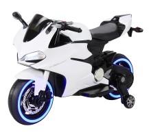 Детский электромобиль - мотоцикл Ducati White - SX1628-G
