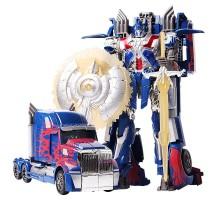 Робот-трансформер стальной ''Грузовик (щит и меч)'' 35 см - J8070/8004B