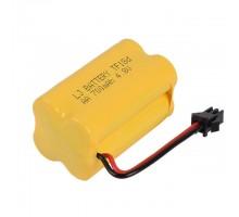 Аккумулятор Ni-Cd 4.8V 700 mAh AA - NICD-48R-700-YP