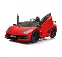 Детский электромобиль Lamborghini Aventador SVJ Red Carbon (дрифт, 15 км/ч, 24V) - SX2028S-RED