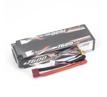 Аккумулятор Sunpadow Li-Po 7.4V 7600 45C S Deans plug - SP-7600-2-45C-S-D