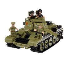 Конструктор Армия России ''Танк Т-34'' (969 деталей) - АР-01014