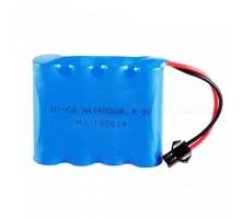 Аккумулятор Ni-Cd 4.8v 1400mah (разъем YP) - NICD-48F-1400-YP