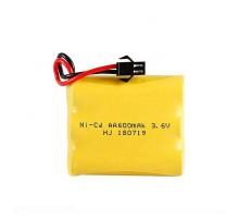 Аккумулятор Ni-Cd 3.6V 600 mAh AA - 36600-01