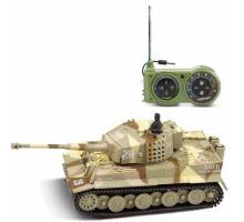 Радиоуправляемый танк Great Wall Tiger (песочный камуфляж, 35MHz, 1:72) - 2117-2
