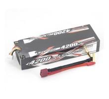 Аккумулятор Sunpadow Li-Po 11.1V 4200 40C S Deans plug - SP-4200-3-40C-S-D