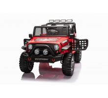 Детский электромобиль джип XMX с полным приводом (красный, EVA, 12V) - XMX618-4WD-RED