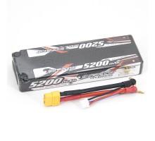 Аккумулятор Sunpadow Li-Po 7.4V 5200 45C Slim XT60 plug - SP-5200-2-45C-S-X