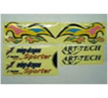 Набор наклеек Art-tech 52061