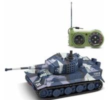 Радиоуправляемый танк Great Wall Tiger (серый камуфляж, 40MHz, 1:72) - 2117-3