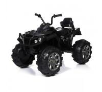 Детский квадроцикл Grizzly ATV Black 12V с пультом управления 2.4G- BDM0906